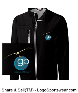 GPIES Men's Jacket - Black Design Zoom