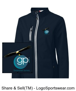 GPIES Womens' Jacket - Navy Design Zoom