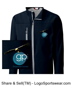 GPIES Men's Jacket - Navy Blue Design Zoom